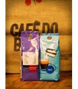 ICS榛子朱古力咖啡 + 藍牌脫脂奶粉