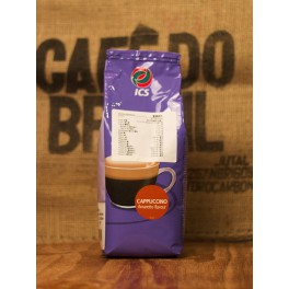 ICS杏仁朱古力咖啡 + 藍牌脫脂奶粉 + 不銹鋼手動奶泡器