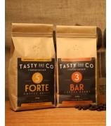 Bar (3) 中度烘焙咖啡豆 + Forte (5) 深度烘焙咖啡豆