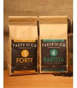 Barista (4) 中深度烘焙咖啡豆 + Forte (5) 深度烘焙咖啡豆