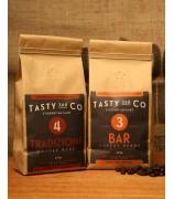 Bar (3) 中度烘焙咖啡豆 + Tradizione (4) 中深度烘焙咖啡豆