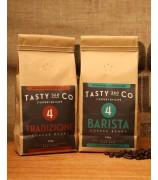 Barista (4) + Tradizione (4) 中深度烘焙咖啡豆